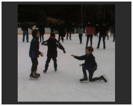 ice skating photo